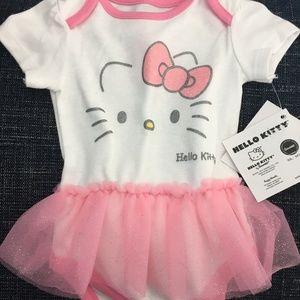 Hello Kitty Onesie 3-6 months